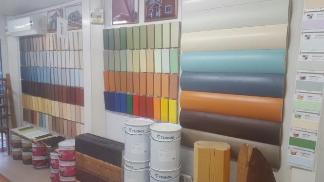 краска для фасада деревянного дома